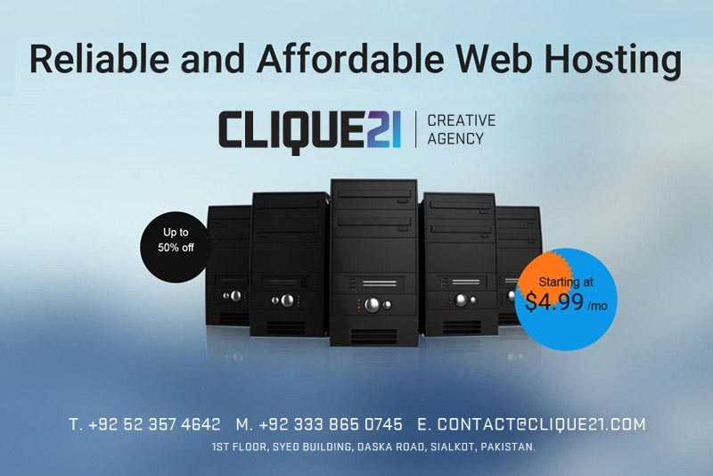 Professional Web Hosting Services Provider in Sialkot
